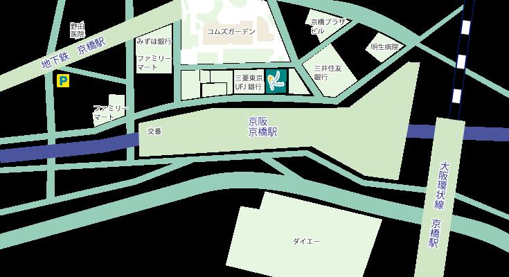 京橋院map